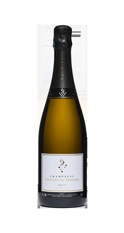 Champagne COTTANCEAU-PRIGNITZ BRUT Mazal Chardonnay Pinot Noir Meunier