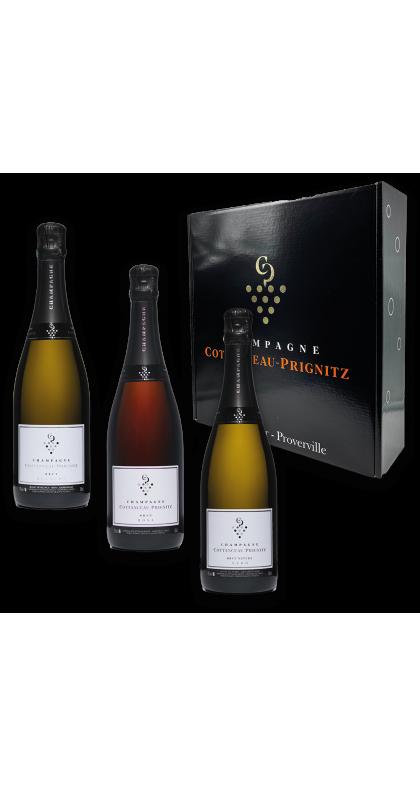 Champagne COTTANCEAU-PRIGNITZ coffret dégustation