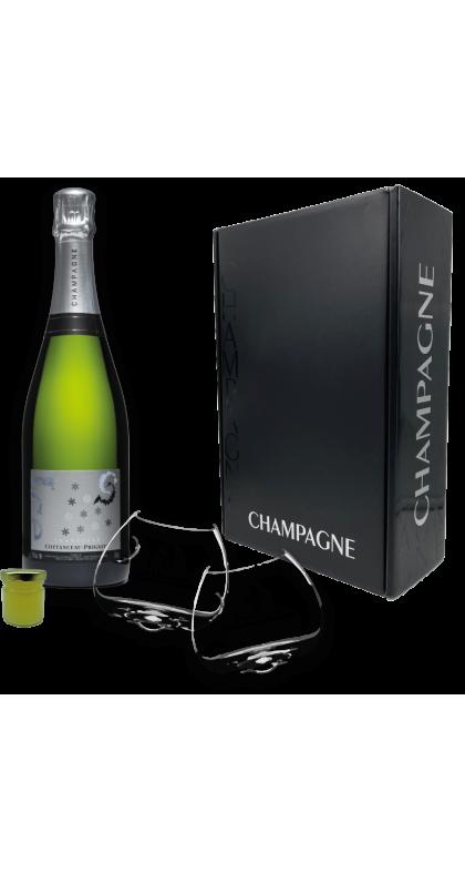Champagne COTTANCEAU-PRIGNITZ coffret Ice by CP