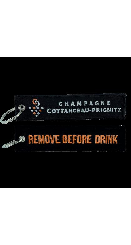 Champagne COTTANCEAU-PRIGNITZ porte clef